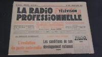 Journal Monthly La Radio Professional N°208 Jul-Aug 1952 ABE