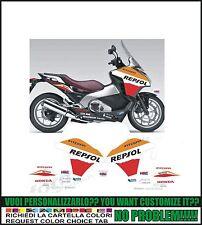 kit adesivi stickers compatibili integra 700 r repsol