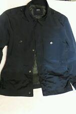 Hugo Boss Navy Lined 4 pocket Jacket adjustable waist 44R 54EU
