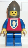 LEGO Minifigure - CAS113 - CASTLE -  Crusader Lion - Blue Legs with Black Hips,