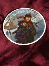 Norman Rockwell 1982 Christmas Courtship Collector Plate