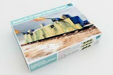 TRUMPETER 1/35 00222 pl-37 sovietica LUCE DELL' ARTIGLIERIA (ferrovie) Carro