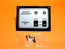 INTELLITEC BD2 BLACK AND SILVER RV BATTERY DISCONNECT PANEL 0100066006