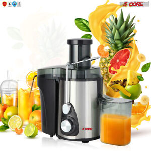 NEW 2021 Electric Juicer Wide Mouth Fruit Centrifugal Juice Extractor 3 Speed 🍊