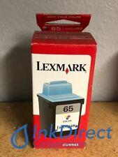 Genuine Lexmark 16G0065 Lex 65  Ink Jet Cartridge Color Z12 Z22 Z32