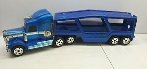 Buddy L truck Kenworth 1989 average for parts blue 10 wheel 51cm