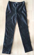 New H&M Faux Leather Black Women's Pants Leggings Side Zipper