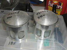 rupp xenoah 340 l/c nitro and magnum oem  0.5mm oversize  pistons and rings