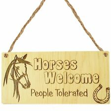 Horse Gifts For Girls For Women Stable House Sign Horse Lover Gift Mum Daughter