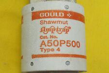 1772  New Shawmut A50P500 Type 4 500 AMPS AMPTRAP  FORM 101 New Surplus