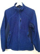 Rare Men's Patagonia R2 Regulator Fleece Zip Up Thick Pile Blue Jacket Sz M