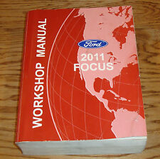 Original 2011 Ford Focus Shop Service Manual 11