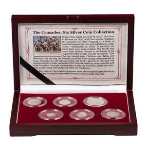 The Crusades: 6 Silver Medieval Coin Collection