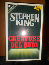 STEPHEN KING- LE CREATURE DEL BUIO-