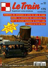 LE TRAIN N° 175 DE 2002, LES VOITURES USI. LS MODELS