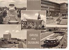 Guss Aus Duisburg Stadttheater Hauptbahnhof Rathaus Handelskammer Nordsudachse