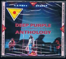 DEEP PURPLE THE COMPACT DISC ANTHOLOGY - 2 CD F.C. SIGILLATO!!!