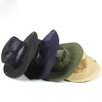 Men Outdoor Cap Camping Cap Fishing Cap Sun Hat Protection Boonie Hat Wide Brim
