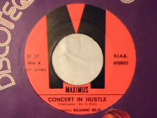 "ORCHESTRA SILVANO SILVI SOUL SOUND GROUP Concert in hustle 7"" VERY RARE LIKE NEW"