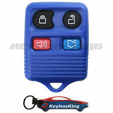 Replacement for Ford Mustang - 1999 2000 2001 2002 2003 2004 2005 06 Remote Blue
