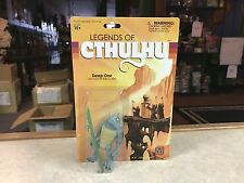 "2015 Warpo Legends of Cthulhu DEEP ONE 4"" Inch 1:18th Scale Toy Art Figure MOC"