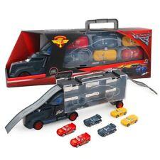 7Pcs/Lot Disney Pixar Cars McQueen Mack Uncle Truck 1:55 Diecast Alloy Model Toy