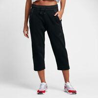 Nike Women's Sportswear Tech Fleece Cropped Pants NEW AUTHENTIC Black 831711-010
