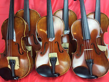6 Piece Antique Violin 4/4 Size Dominant Violin Strings , Wittner Tailpiece