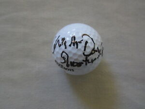 Christopher McDonald autograph signed golf ball inscribed Shooter Happy Gilmore