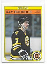 82-83 O-PEE-CHEE HOCKEY BASE CARD #7 RAY BOURQUE BRUINS