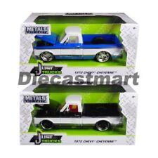 Coches, camiones y furgonetas de automodelismo y aeromodelismo camionetas Chevrolet de escala 1:24
