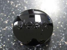 JEEP WRANGLER GRAND CHEROKEE PATRIOT COMPASS Black JEEP Center Cap NEW OEM MOPAR