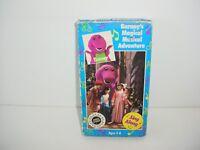 Barney - Barneys Magical Musical Adventure VHS Movie