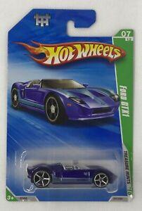 2010 Hot Wheels Treasure Hunts Ford GTX1 Limited Edition Rare # 7 Of 12