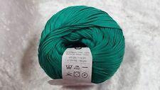 Katia Arte #21 Emerald Green 100% Cotton Ribbon Yarn 50g