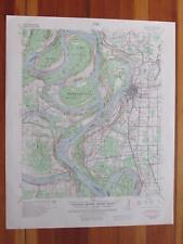 Refuge Mississippi 1954 Original Vintage USGS Topo Map