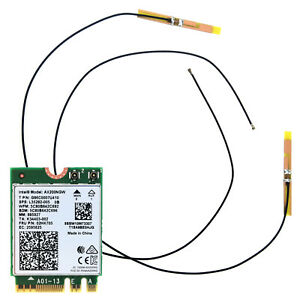 AX200 WiFi 6 M.2 Network Card Antenna Laptop Kit Wireless Bluetooth AX200NGW 5G