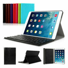 UK For iPad 2 3 4 /Air 1/Air 2 Detachable Wireless Bluetooth Keyboard Case Cover