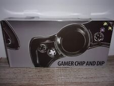 New listing Gamer Chip and Dip Dish - Looks Like A Black Joystick