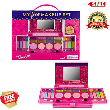 Princess First Makeup Set For Kids Cosmetic Girls Kit Lip Gloss Blushes Mirror