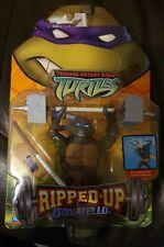 Vintage Teenage Mutant Ninja Turtles TMNT Donatello Ripped Up Figure *new* 2004