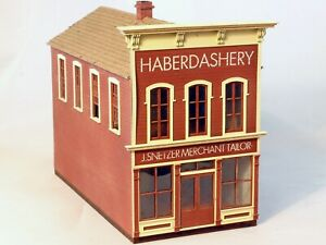 Berkshire Valley Models HO/HOn3, 1/87 Haberdashery False Front kit - #2032