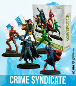 Knight Models DC Universe Miniature Game - Crime Syndicate