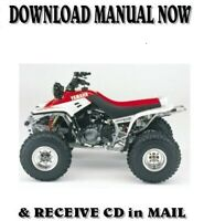 1999 Yamaha WARRIOR YFM350X factory repair service manuals on CD