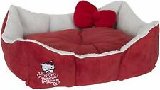 Hello Kitty Premium Pet Dog Puppy Cat Super Soft Bed Red Lightweight Padded