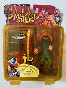 Palisades Muppet Show Electric Mayhem Band FLOYD PEPPER Variant Figure Henson