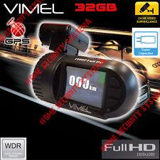 Dashcam Truck Camera GPS 32GB Security Parking mode Super capacitor 1080 Crash