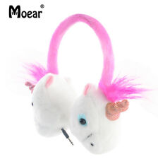 Children Kids Unicorn Headphones Wired 3.5mm Earphones  For MP3 PC