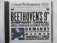 Beethoven: Symphony No.9 - Ormandy, Condie, Amara, Chookasian, Alexander - CD