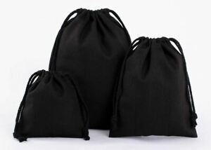 Stoffbeutel Leinenbeutel Leinensack Geschenkbeutel Hochzeit Säckchen in 3 Größen